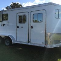 2011 Featherlite oversized 2 horse